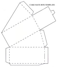 Paper Box Cut Out Template