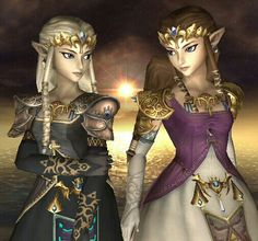 Everybody has a bad side...Zelda/Dark Zelda SsBB