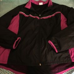 Danskin XXL Spring Coat Perfect condition.  Spring coat, windbreaker.  Size XXL (20).  Made by Danskin.  Important:  bundle discount available!!!!!   I make sure all items are freshly laundered as applicable (shoes and tagged items, I don't remove the tags and wash).  However, not all my items come from pet/smoke free homes.    Low pricing reflective of this. Thank you for looking! Danskin Jackets & Coats