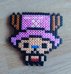 Chopper - One Piece hama beads by Deco.Kdo.Nat