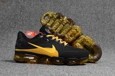 new products f85df 4ed53 Shop Runs 2017 Offer Cheap Sale Nike Air VaporMax 2018 KPU Black Golden Men  Shoes,First Hand Factory Direct Sale.