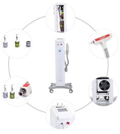 Whitening: The ND: laser can be absorbed by the blue and black melanin. The melanin will be fragmented so small that they can be metabolized by the lymphatic system or be egested out of the body. Nd Yag Laser, Lymphatic System, Tattoo Removal, Medical Equipment, Whitening, Tattoo Ideas, How To Remove, Tattoos, Blue
