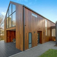 JTB Builders have worked there magic using Hurfords Wood Elements Refined Architectural Hardwood. Shiplap Cladding, Timber Cladding, Timber Flooring, Timber Supplies, Sawn Timber, Workshop Studio, Wide Plank, New Construction, Melbourne