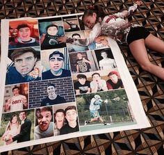 Kenzie & her Nash blanket