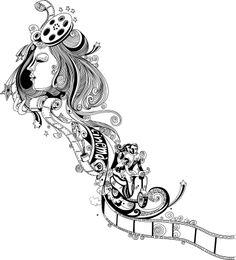 Artworks: Illustrator Vector Art For Vespa Scooter Website (O&M Ad Agency)