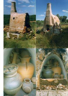 Ceramica y horno de Serafin.