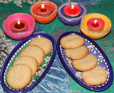 home #baked #Almond #cookies for #diwali #recipe #food #foodie #indian #festival