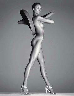 """Karlie Kloss by Steven Meisel  """"The Nude in Vogue"""" Vogue Russia 2012 special edition"""