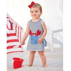 This is such an adorable crab dress perfect for summer! It is now available at Ace Hardware of Gray! #aceistheplace #acehardware #aceofgray #shoplocal
