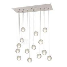 Remoter Dimming 14 Lights DC12V G4 Crystal Pendant Lights for Living Room Dinnning Room Stairs Lamp 2017 - €305.04