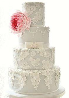 4 tier wedding cake Beautiful Wedding Cakes, Gorgeous Cakes, Pretty Cakes, Amazing Cakes, Torte Rose, Cotton And Crumbs, Gateaux Cake, Themed Wedding Cakes, Wedding Cake Inspiration