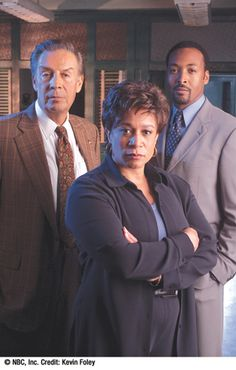 Law and Order - S.Epatha Merkerson, Jerry Orbach and Jesse L. Martin