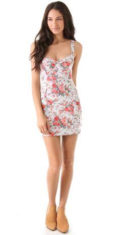 French Terry Bodycon Dress by sofi.hazan