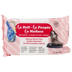 Amazon.com: Activa La Doll Natural Stone Clay, 1.1-Pound, Satin Smooth