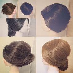 #mulpix 七夕ということで 浴衣、着物を綺麗に着こなすアレンジのひとつ、かぶせのまとめ髪色々 シルエットを変えると印象もとても変わります️ #hair #ヘアセット #ヘアメイク #ヘアアレンジ #和髪 #かぶせ #まとめ髪 #着物 #着物ヘアー #浴衣 #浴衣ヘアー #日本髪 #結婚式 #二次会 #お呼ばれ #シニヨン