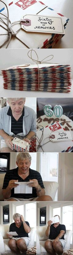 {Sixty Years Of Memories} This is the *sweetest* idea. So cool. Love.