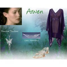 Lastest creation - Inspired by Arwen (Lord of the Rings) by christy-church on Polyvore