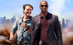 Download wallpapers Lethal Weapon, 2018, American television series, Clayne Crawford, Damon Kyle Wayans, Martin Riggs