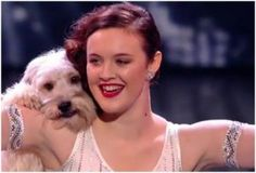 Okay, I totally geeked out when I saw these two do their dance.  They are fairly amazing and I'll say it out loud - Ashleigh and Pudsey rock!