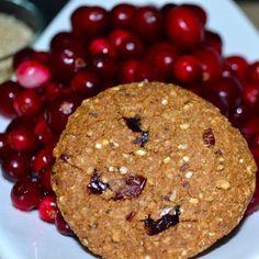 Cranberry Quinoa High Fibre Cookie Closeup - GL Bakehouse Daily Fiber Intake, High Fibre, Quinoa, Healthy Snacks, Detox, Flora, Meals, Cookies, Desserts