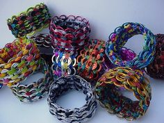 Bracelets Galore by Pop Top Lady, via Flickr