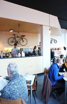 Bar Bidon in #Gent www.newplacestobe.com Restaurant Bar, Coffee Shop, Belgium, Vs, Furniture, Dates, Home Decor, Can, Coffee Store
