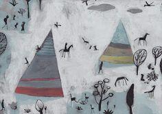 Montana de colores, Natacha Goransky