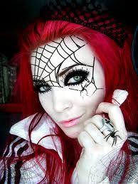 spider queen makeup - Google Search