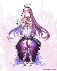 View an image titled 'Ouroboros Art' in our The Alchemist Code art gallery featuring official character designs, concept art, and promo pictures. Female Character Design, Character Design Inspiration, Character Art, Kawaii Anime Girl, Anime Art Girl, Anime Girls, Anime Chibi, Manga Anime, Fantasy Characters
