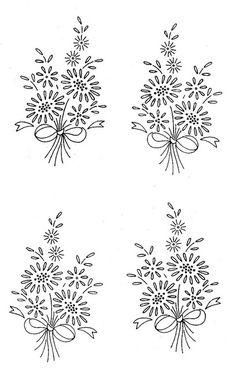 Vintage Embroidery Patterns - hundreds