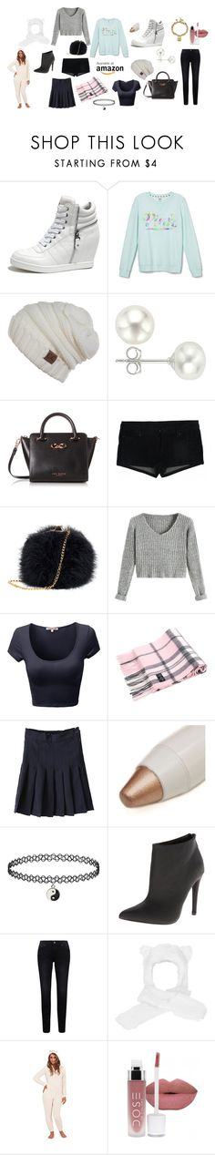 """amazon shopping"" by worlditgirl ❤ liked on Polyvore featuring Victoria's Secret, Pearlyta, Ted Baker, NYX and Michael Antonio"