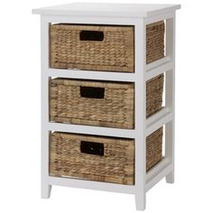Rangoon 3 Drawer Storage Unit | Freedom Furniture and Homewares