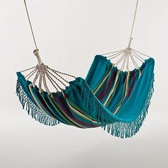 Colorful Hammock (without holes to fall through!)