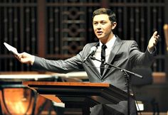 Scotty McCreery served as host of the Feb. 19, 2013, concert in honor of the Keep the Music Playing campaign at the Schermerhorn Symphony Center in Nashville. Credit: CMA/Donn Jones