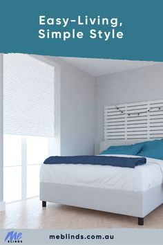 Easy living laid back and calm, white blinds reflect light & life into your home. White Blinds, Blinds Online, Interior Styling, Interior Design, Shades Blinds, Window Styles, Light Of Life, Blinds For Windows, Coastal Style