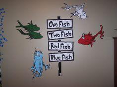 dr. seus themed kids room | Dr Seuss Dr. Suess Theme Wallpaper Wall paper Art Sticker Mural Decal ...