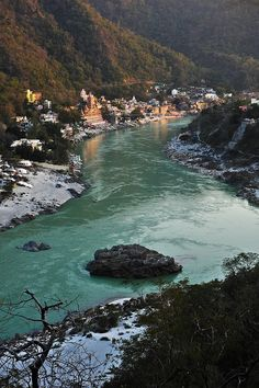 Rishikesh, India. A place of pilgrimage and where the Beatles wrote their White Album.