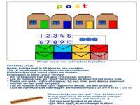 123 lesidee - Beroepen 'postbode'