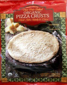 I would avoid these new par baked organic pizza crusts from Trader Joes #traderjoes #pizza