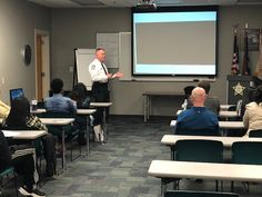 The Citizens' Academy Class was given presentations on personal safety by Sheriff Carmichael then SRT and CNU team demonstrations. Sheriff Office, Personal Safety, Citizen, Presentation, Community