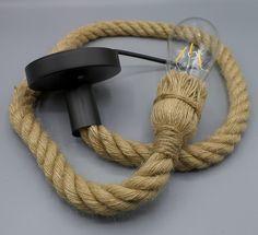 Lampen touw - met snoer erin verwerkt   Touwenwinkel.nl Accessories, Jewelry Accessories