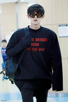 """May the Bridges I Burn Light the Way"" Well, Chanyeol is in charge of fire, after all"