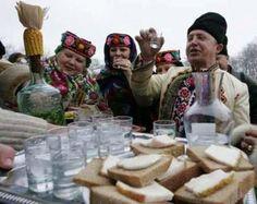 Christmas celebrations in Pirogovo Village, near Kiev in the Ukraine