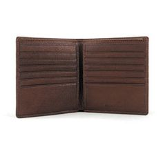Style # Pictured in Brandy Genuine cowhide leather from Argentina Divided bill compartment Twelve credit card slots Two slip pockets Nylon lining RFID Lining Cowhide Leather, Leather Men, Hipster, Mens Fashion, Pockets, Accessories, Wallets, Black, Style