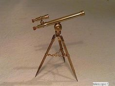 This Miniature Telescope is an absolute must for my library - original blog now unavailable