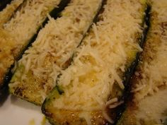 Grilled Zucchini with Parmesan