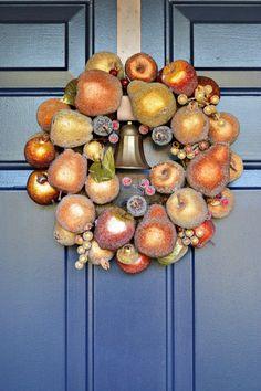 Fall Wreath Hung Wreath