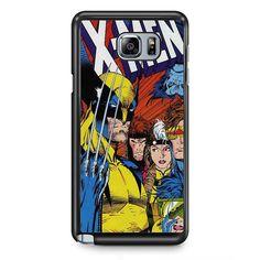 X Men Comic TATUM-12099 Samsung Phonecase Cover Samsung Galaxy Note 2 Note 3 Note 4 Note 5 Note Edge