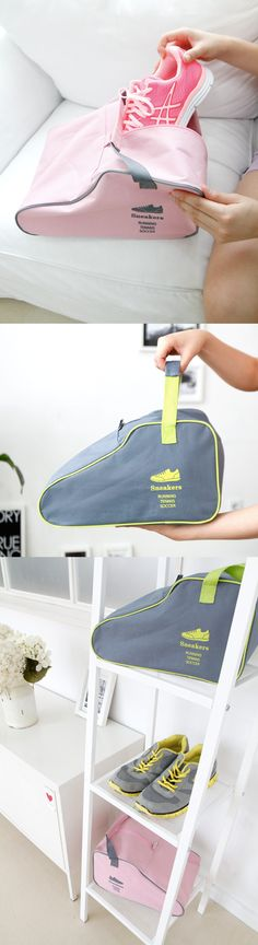 Sturdy shoe pouch that can protect and keep clean your shoes. Carry this Sneakers Bag with you for hiking or workout!