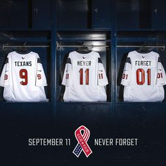 9.11.01 Remembering and honoring those we lost 20 years ago today. #NeverForget The post Houston Texans: 9.11.01 Remembering and honoring those we lost 20 years ago today. #NeverForget… appeared first on Raw Chili.